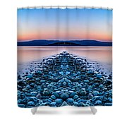 Sunset Way Shower Curtain