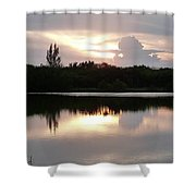 Sunset Whispers Shower Curtain