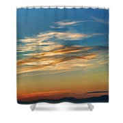 Sunsets Ca3459-13 Shower Curtain