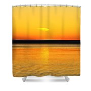Sunsets Desire Shower Curtain