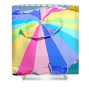 Sunshine And  Rainbows Shower Curtain