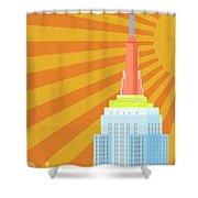 Sunshine City Shower Curtain