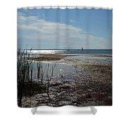 Sunshine On The Bay Shower Curtain