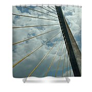 Sunshine Skyway Shower Curtain