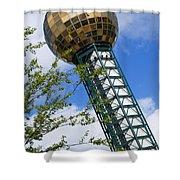 Sunsphere 1982 World Fair Shower Curtain