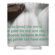 Sunwapta Waterfall John 316 Shower Curtain