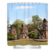 Suor Prat Towers 02 Shower Curtain