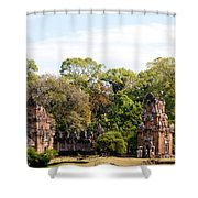 Suor Prat Towers 03 Shower Curtain