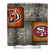Super Bowl 23 Shower Curtain
