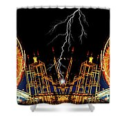 Super Charge My Ride Shower Curtain