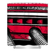 Super-charged Duesenberg Shower Curtain