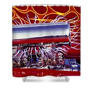 Super Charged Plus Shower Curtain