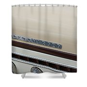 Super Charger Shower Curtain
