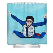 Super Kid Shower Curtain