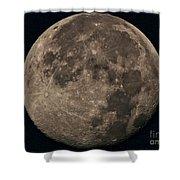 Super Moon 3628 August 2014 Shower Curtain