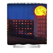Super Moon In Halifax Nova Scotia Shower Curtain