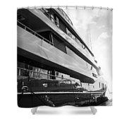 Super Yacht Shower Curtain