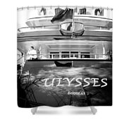 Super Yacht Ulisses Shower Curtain