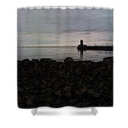 Superior Lighthouse Shower Curtain