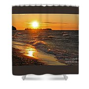 Superior Sunset Shower Curtain