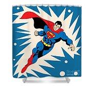 Superman 8 Shower Curtain