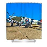 Supermarine Mk959 Spitfire Shower Curtain