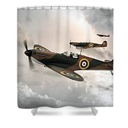 Supermarine Spitfire Mk I Shower Curtain