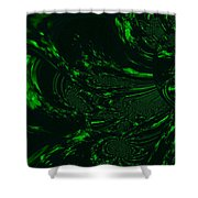 Supernatural Earth Element Shower Curtain