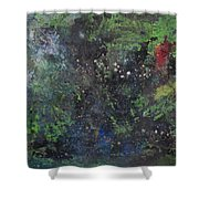 Supernova Number Three Shower Curtain