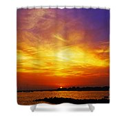 Supersaturated Solution Shower Curtain
