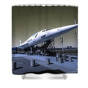 Supersonic  Shower Curtain
