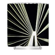 Support Night Shower Curtain