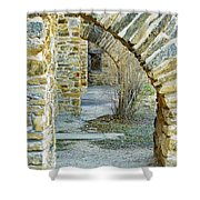 Supporting The Walls Shower Curtain