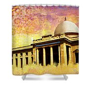 Supreme Court Karachi Shower Curtain by Catf