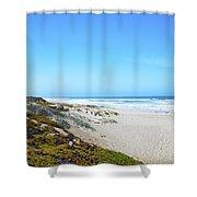 Surf Beach Lompoc California Shower Curtain