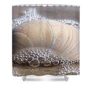 Surf Bubbles Shower Curtain