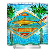 Surf Crest Shower Curtain