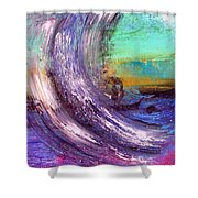 Surf Is Up Shower Curtain