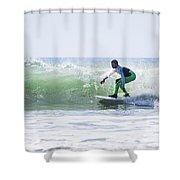 Surf Series 21 Shower Curtain