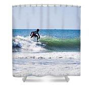 Surf Series 25 Shower Curtain