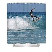 surf Vll Shower Curtain
