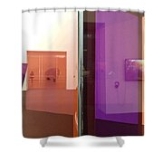 Surface And Reflection Shower Curtain
