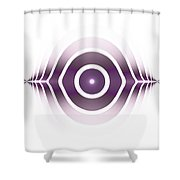Surface Waves - Purple Shower Curtain