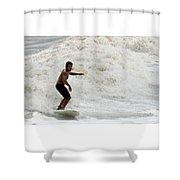 Surfer 0803b-2 Shower Curtain
