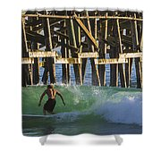 Surfer Dude 2 Shower Curtain