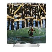 Surfer Dude 3 Shower Curtain