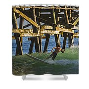Surfer Dude 4 Shower Curtain