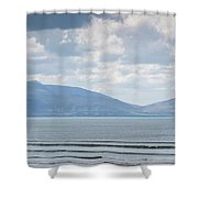 Surfer On The Beach, Inch Strand Shower Curtain