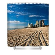 Surfers Paradise Beach South Shower Curtain