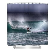 Surfing In The Usa V10 Shower Curtain